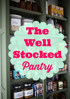 pantry well stocked